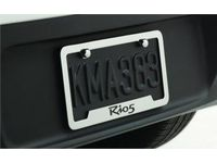 Kia Rio 5-Door License Plate Frame, Lower Logo - UR010AY105JB
