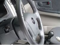 Kia Leather Steering Wheel-Beige - P81002F610NZ