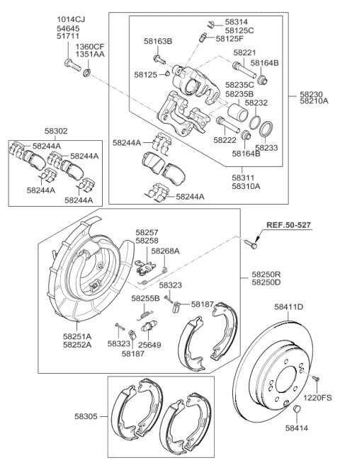 2011 Kia Optima SEAL-PISTON Diagram