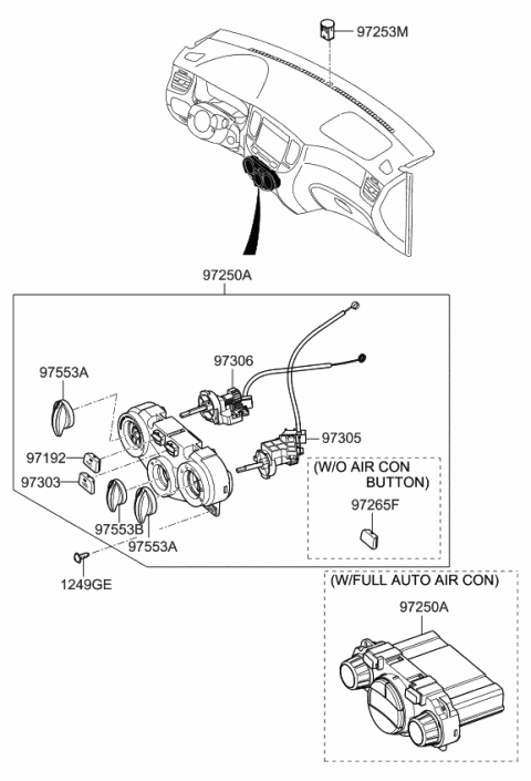 2007 Kia Rio COVER-BLANKING Diagram