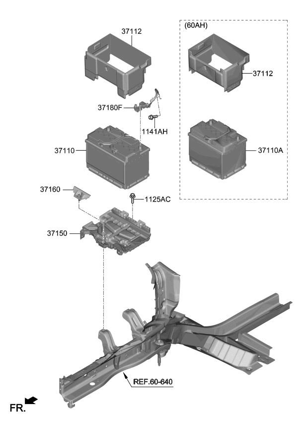 37150k0000 genuine kia pad k genuine kia parts