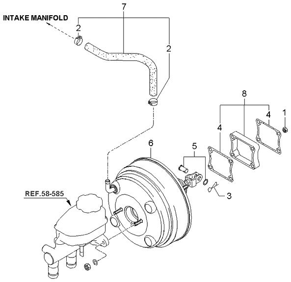 2006 Kia Spectra Parts Diagram