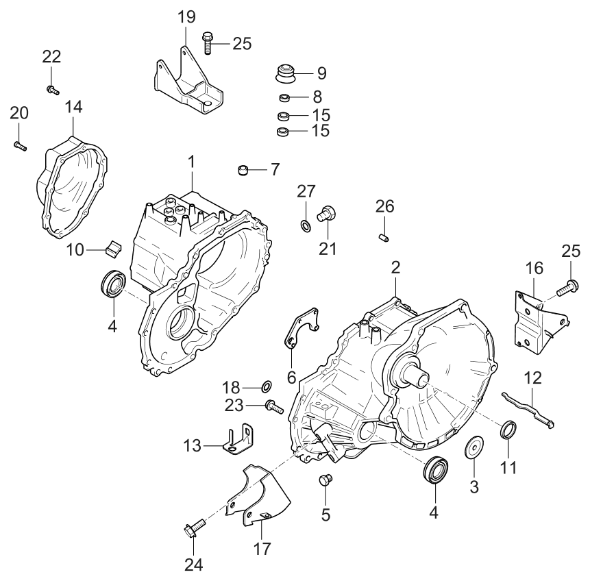 Kia Sorento Repair Manual Online further Transmission Wiring Harness For 2009 Kia Sorento also Kia Housing Clutch 4311528501 besides Kia Soul Front Bumper Parts Diagram likewise RepairGuideContent. on 2006 kia spectra clutch