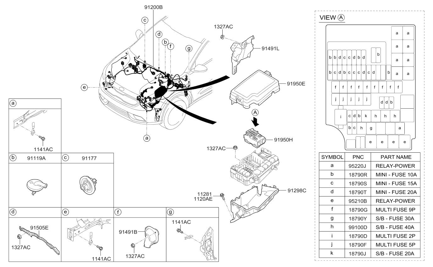 1879004933 genuine kia fuse slow blow micro. Black Bedroom Furniture Sets. Home Design Ideas