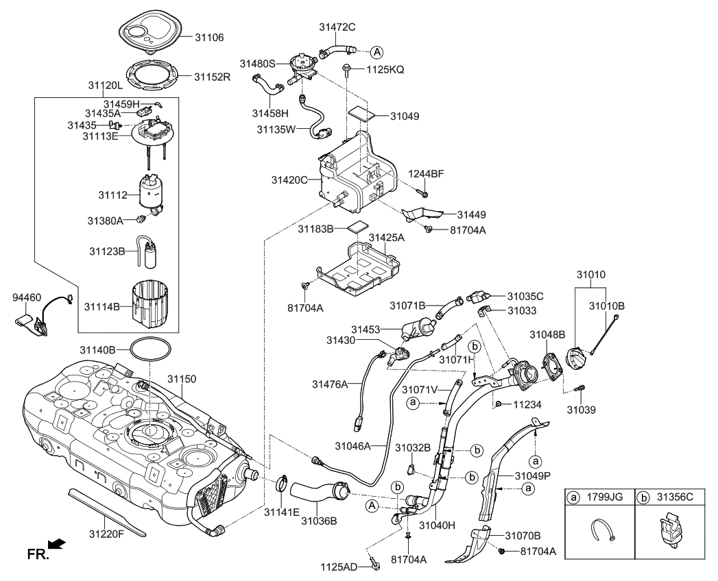 [WRG-5461] Kia Fuel Pump Diagram