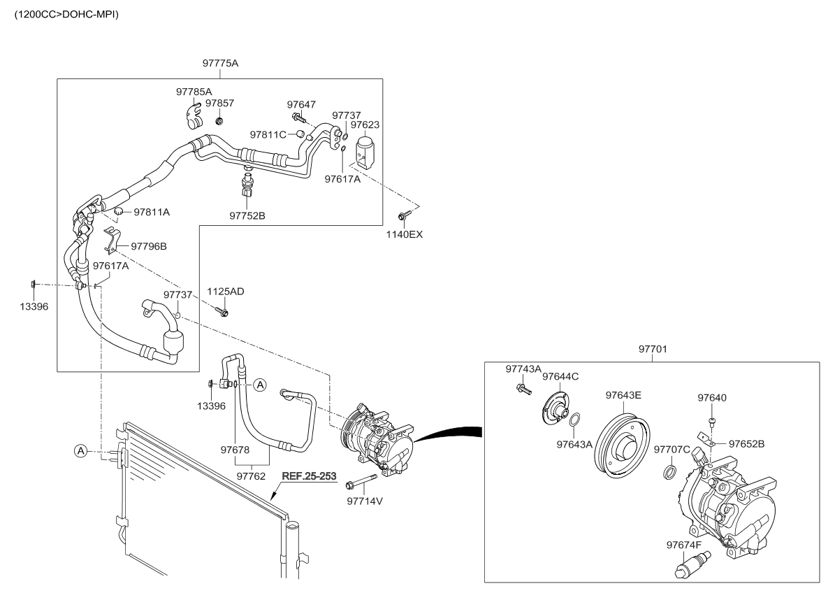 Kia Air Conditioning Diagram