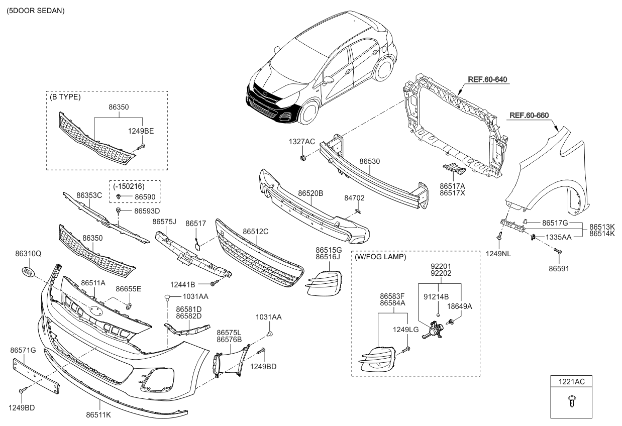 kia soul oem parts diagram