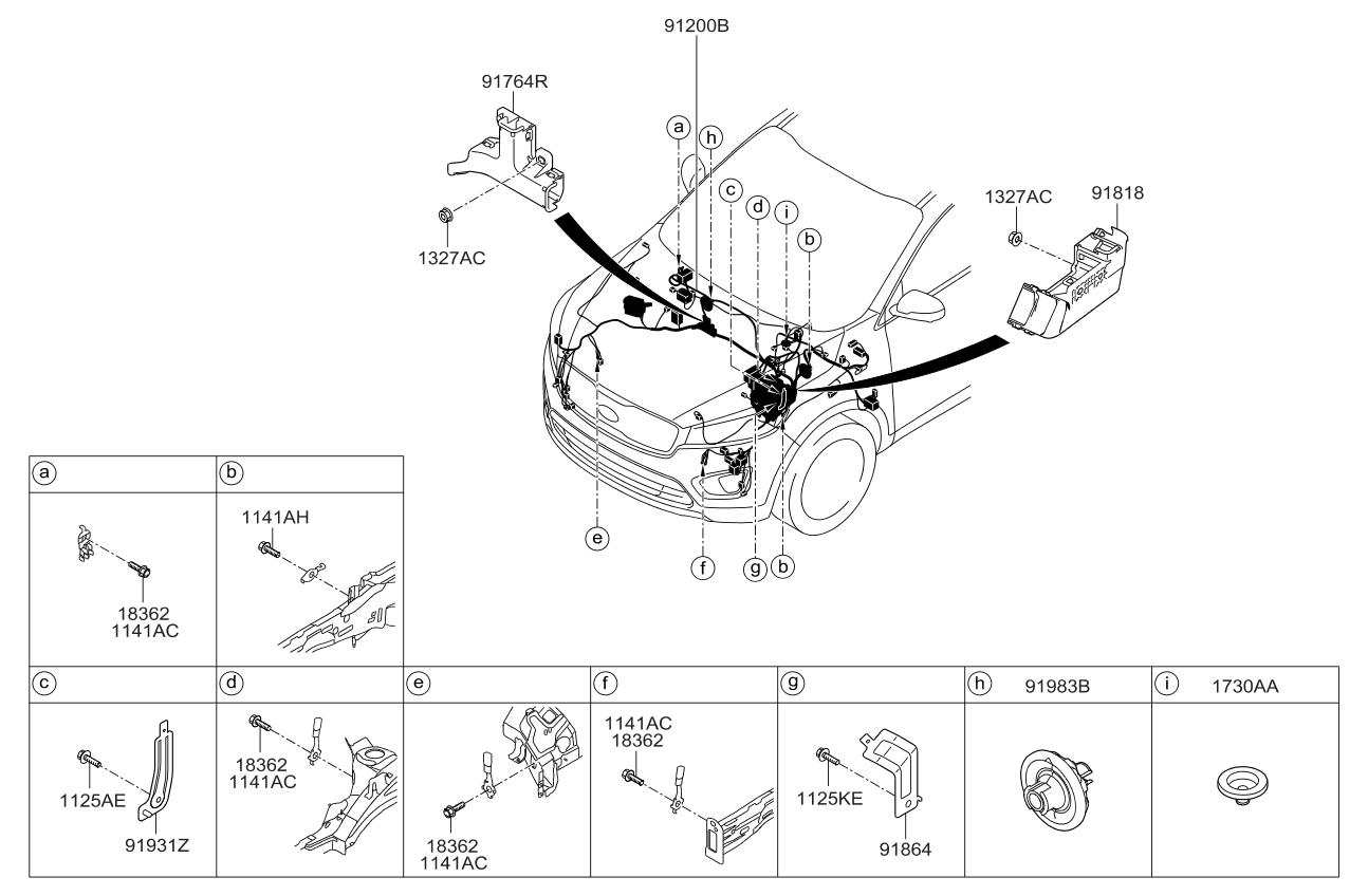 Kia Sorento 2015 Wiring Diagram