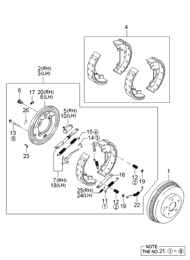 2004 Kia Sedona Brake Line Diagram ~ Best KIA