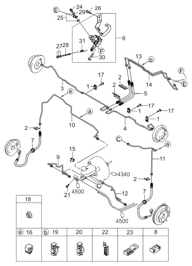 2002 Kium Rio Engine Diagram Brake