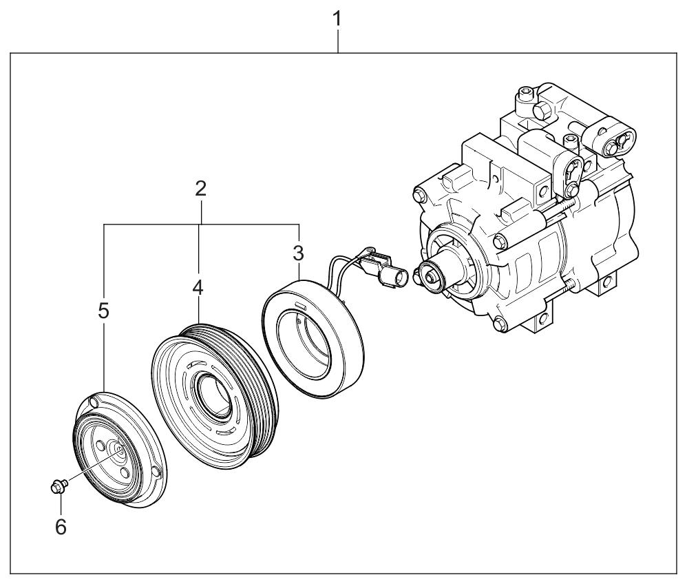 kia sedona coil diagram