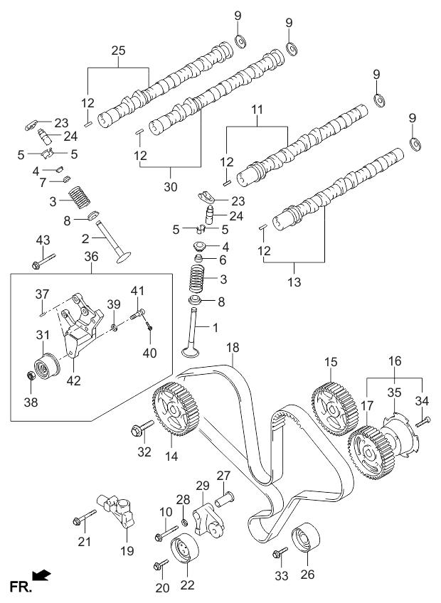 Kia 2431239800 on bmw z3 engine timing diagram, kia sorento engine schematic, kia sorento timing chain diagram,