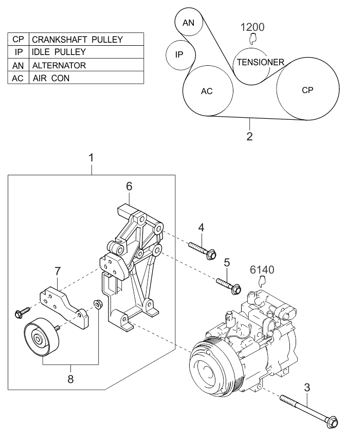 2002 Kium Sedona Engine Schematic