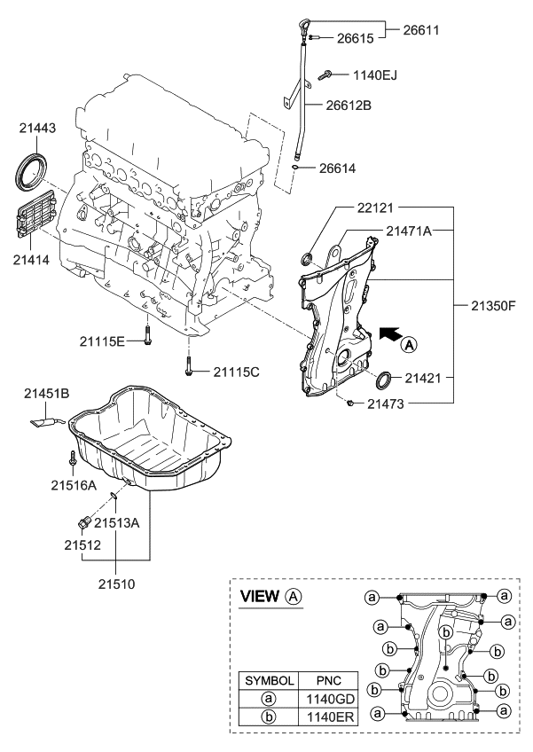 2012 Kium Forte Engine Diagram