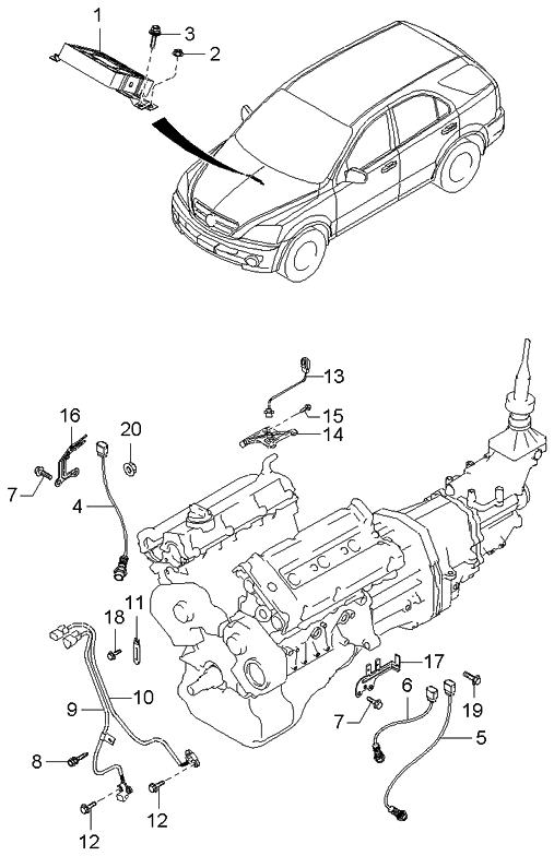 Diagram  Wiring Diagram Kia Sorento Engine Full Version