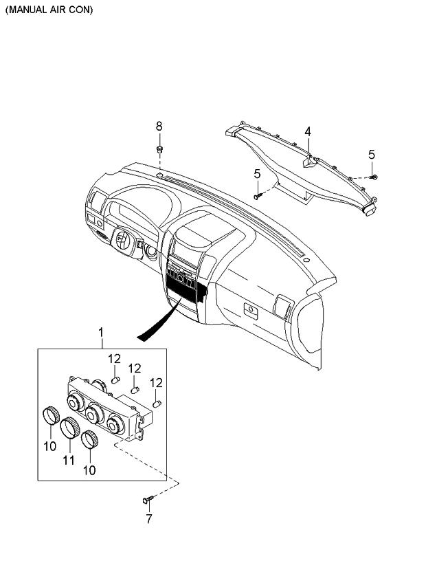 2004 Kia Sorento Parts Diagram Heater • Wiring Diagram For