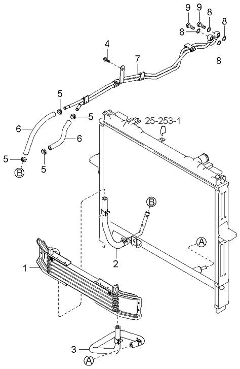 kia 254603e600 2003 kia sorento timing belt diagram 2005 kia sorento engine diagram oil cooling #1