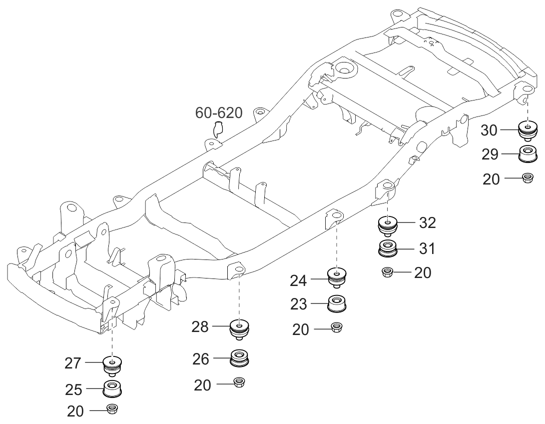 2003 Kia Sorento isolation-pad-floor-covering