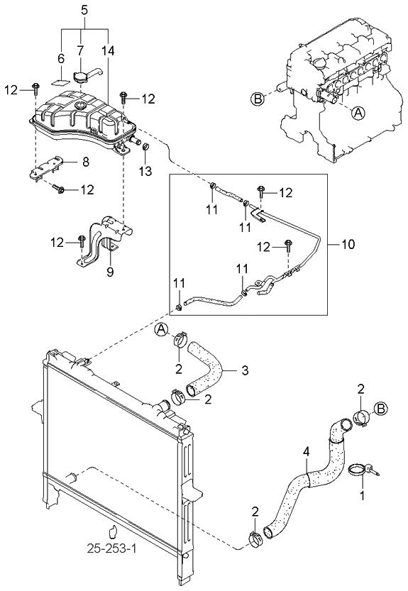 2001 kia spectra fuse box diagram wiring schematic 254303e200 - genuine kia tank assembly-reserve #10