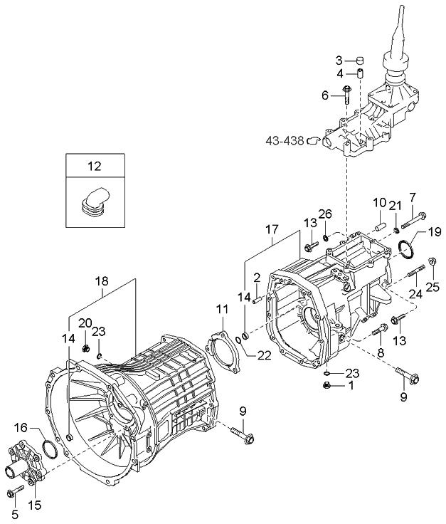 Kia 43189-3C000 Manual Trans Output Shaft Seal