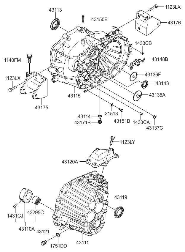 kia 4317524210 Honda Crv Engine Schematic