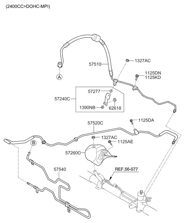 575102p210 genuine kia parts rh kiapartsnow com Kia Engine Diagram Kia Sorento Parts Diagram