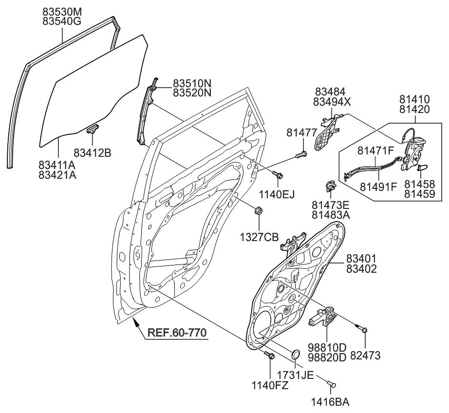 kia sorento driver door parts diagram  u2022 wiring diagram for