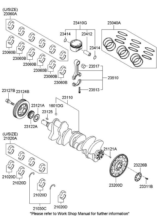 kia 230413cza1 Honda Crv Engine Schematic