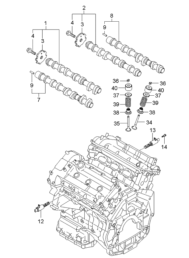 kia sedona exhaust system diagram