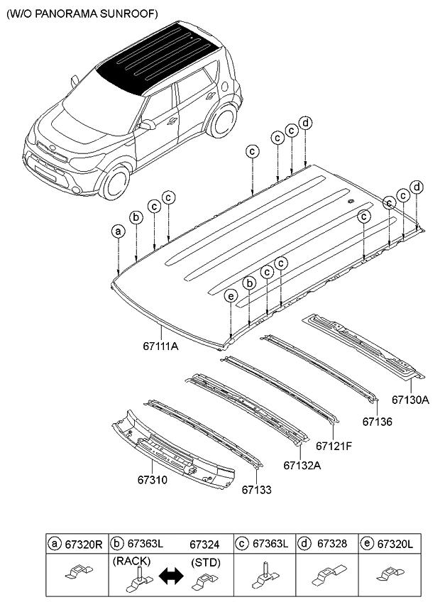 Astonishing 2014 Kia Soul Roof Panel Kia Parts Now Wiring Database Numdin4X4Andersnl