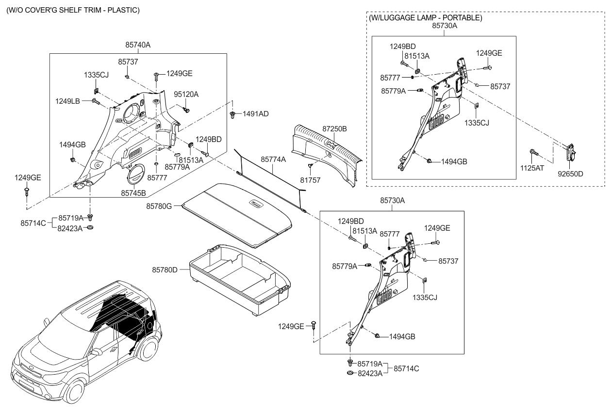 Kia Soul: Relay Box (Passenger Compartment) Description