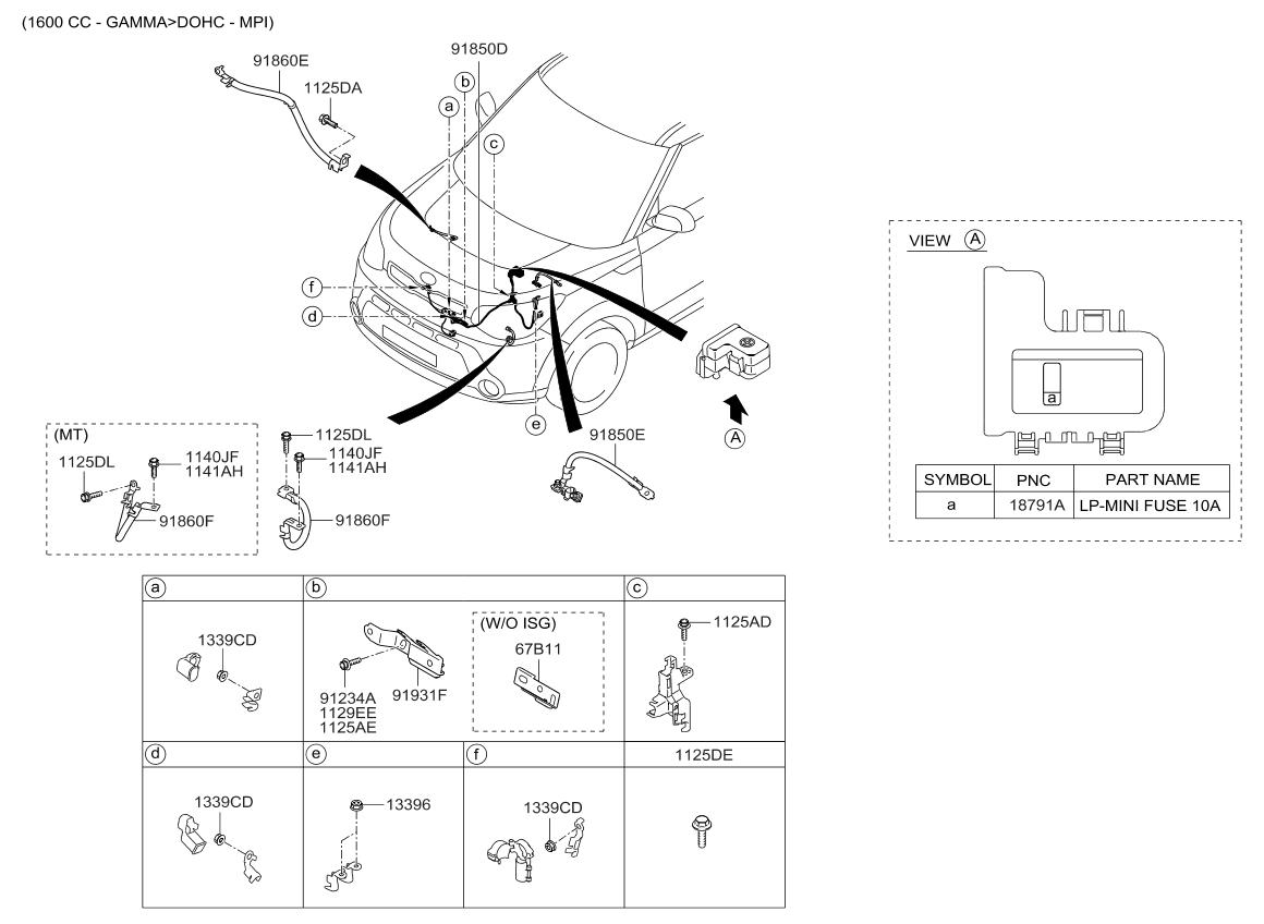 2014 kia soul wiring diagram