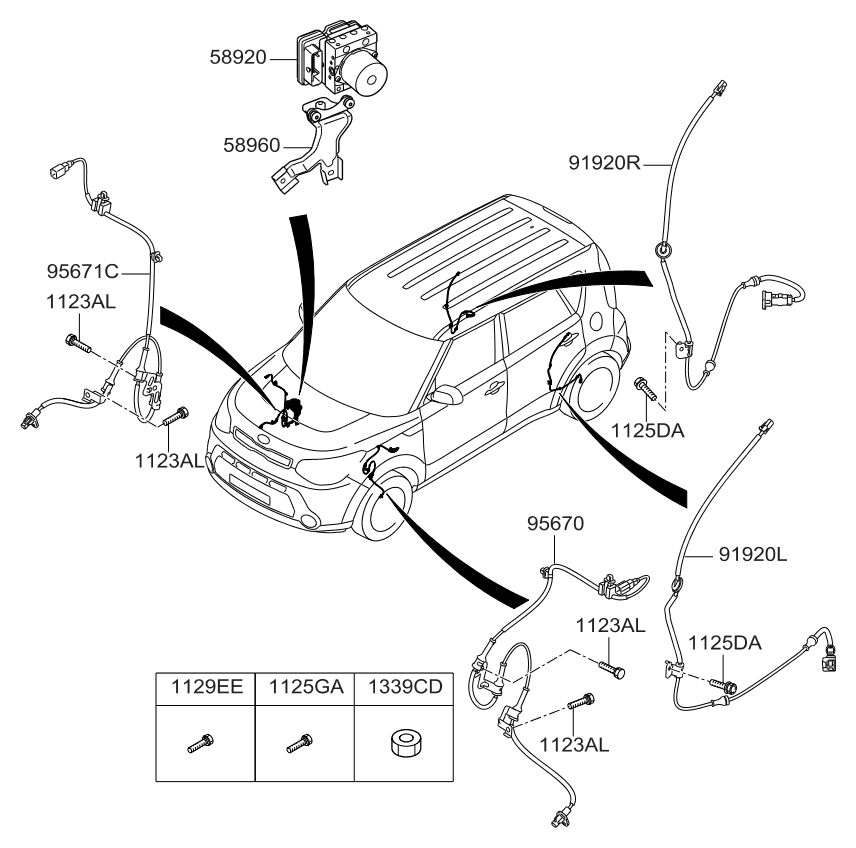 kia soul 1 6 engine diagram