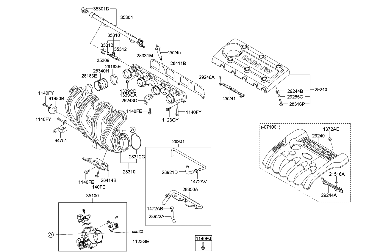 Circuit Electric For Guide: 2007 Kia Engine Diagram