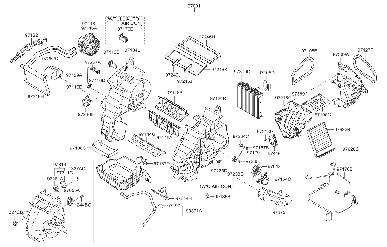 9703508000 genuine kia resistor rh kiapartsnow com 2010 kia soul engine diagram 2012 Kia Soul Serpentine Belt Diagram