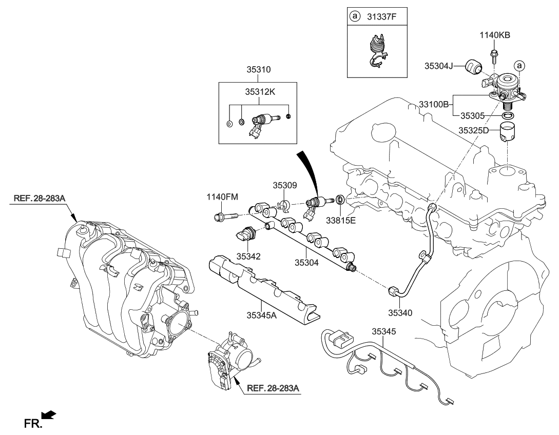 2013 kia soul engine diagram