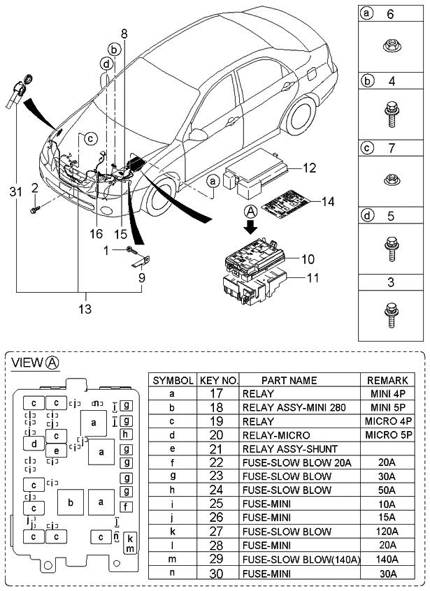 9522538300 genuine kia relay micro. Black Bedroom Furniture Sets. Home Design Ideas