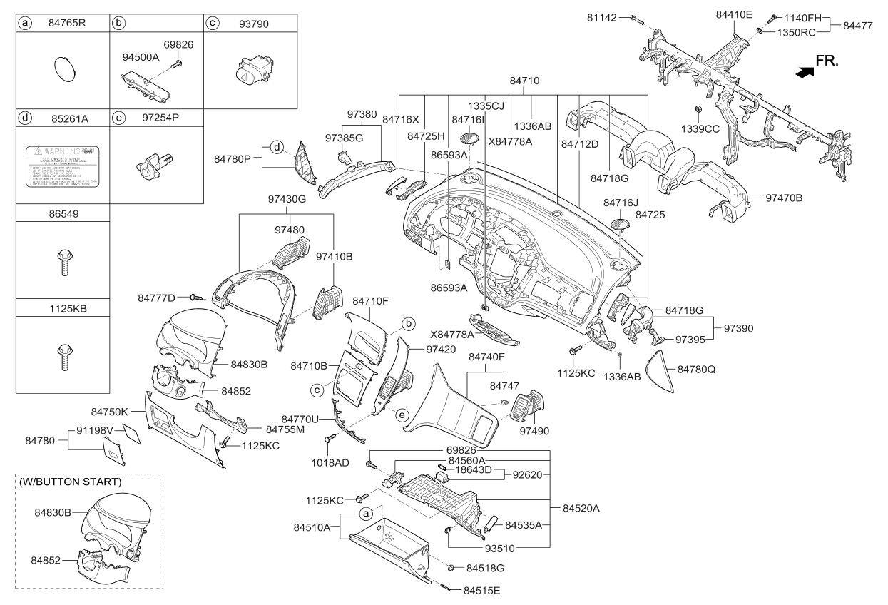 kia forte fuse diagram