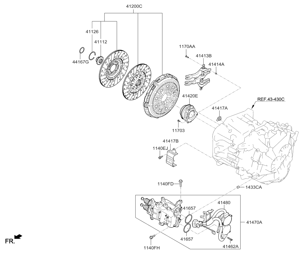 kia forte bearing diagram