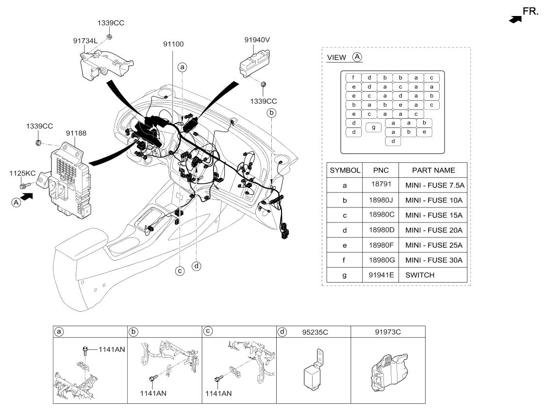 2017 Kia Forte Wiring Diagram
