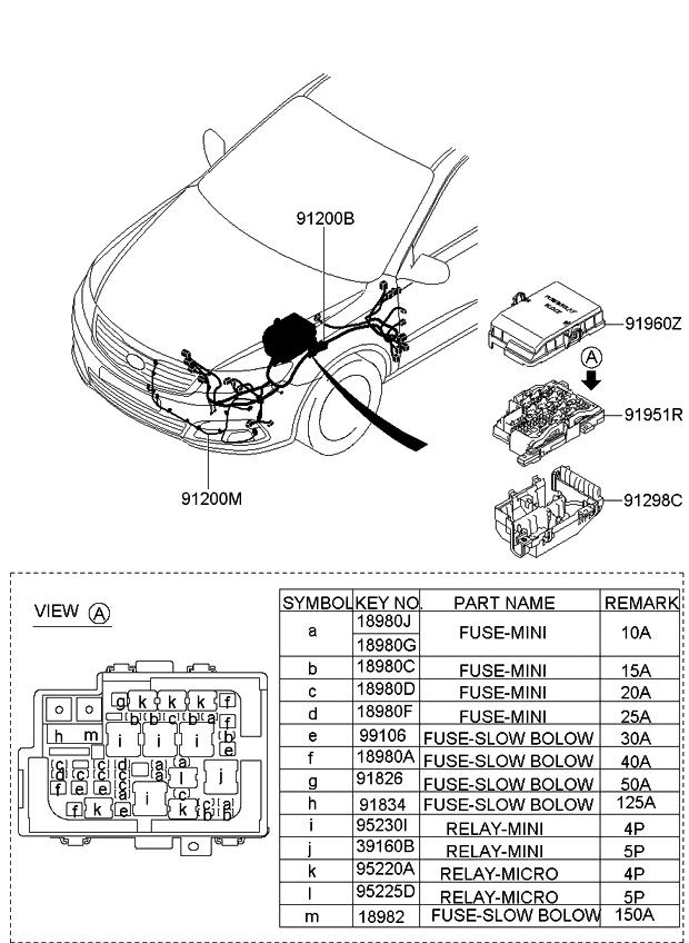 918452g020 genuine kia wiring assembly fem. Black Bedroom Furniture Sets. Home Design Ideas