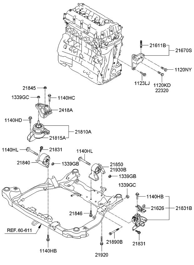 Kium Optima Engine Diagram