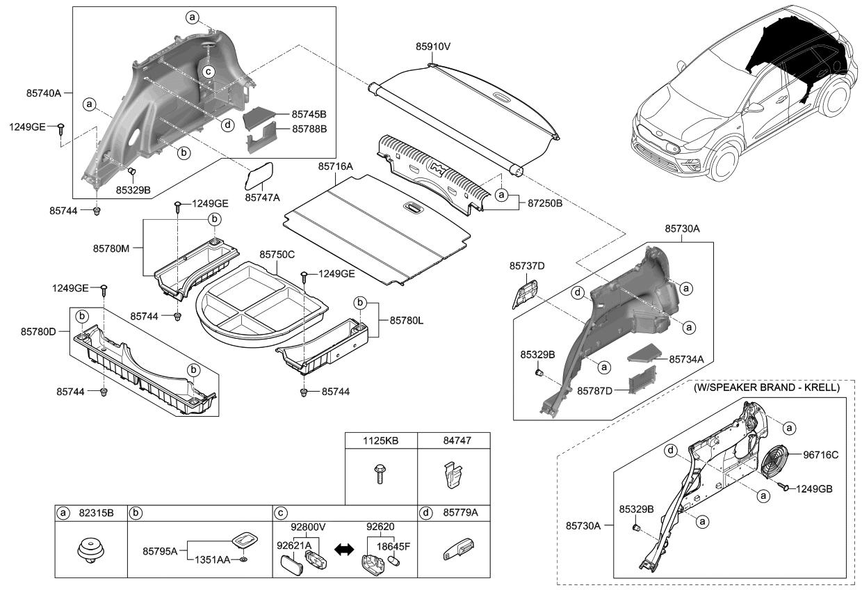 2019 Kia Niro Ev Luggage Compartment