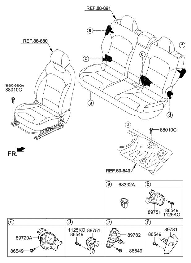 2019 Kia Niro Ev Hardware-seat