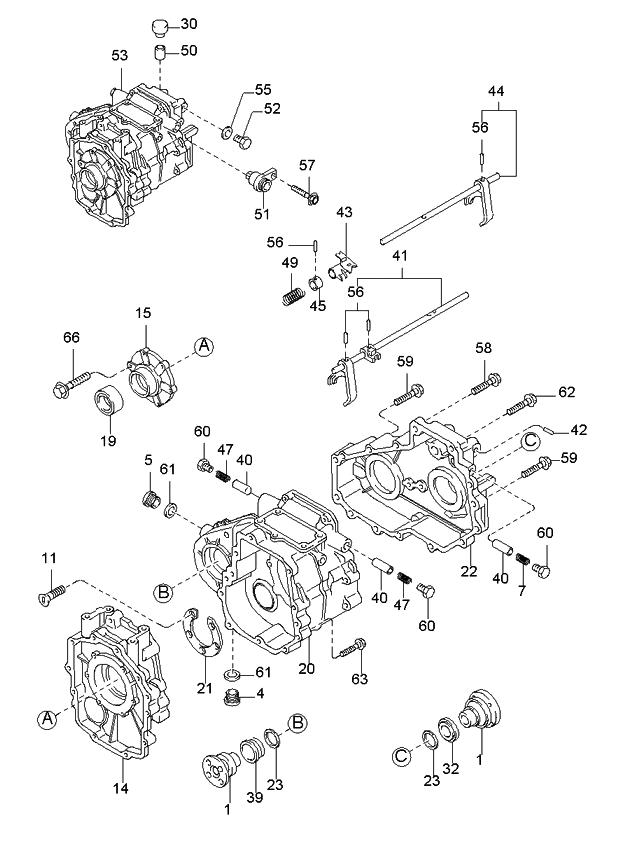 99 Kium Sportage Engine Diagram