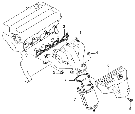 99 Kium Sportage Engine Diagram