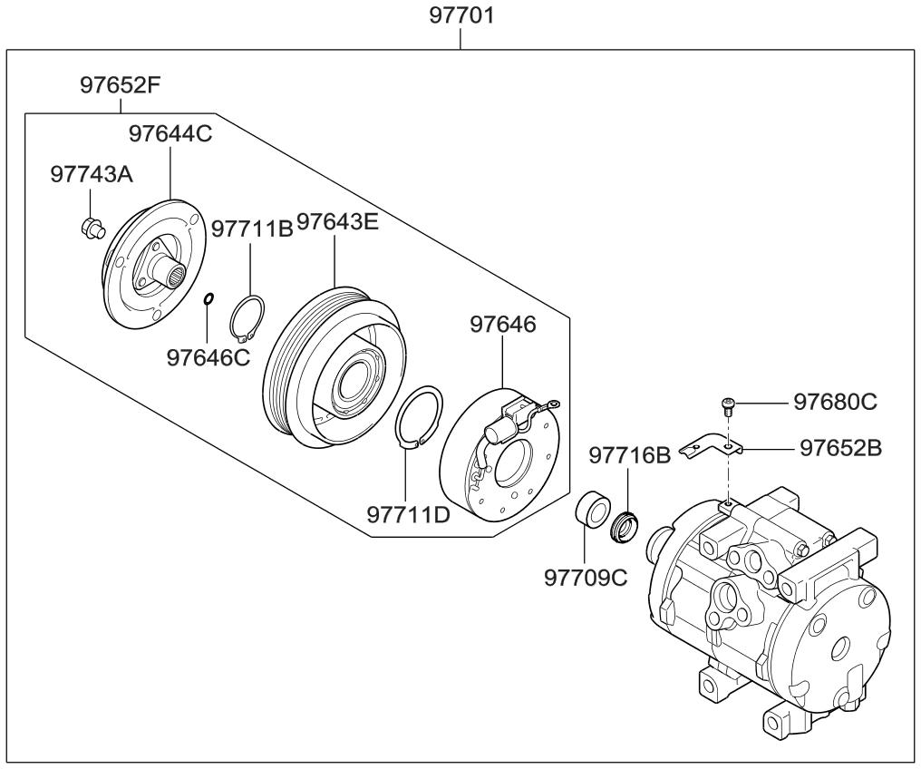 2011 kia sedona engine diagram