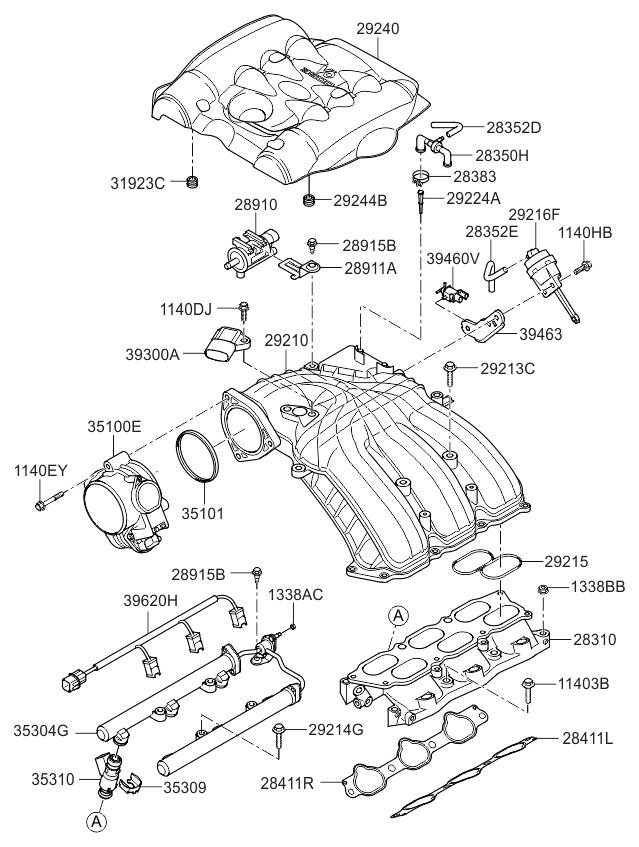 2006 Kia Sedona Engine Diagram Vacuum Lines • Wiring