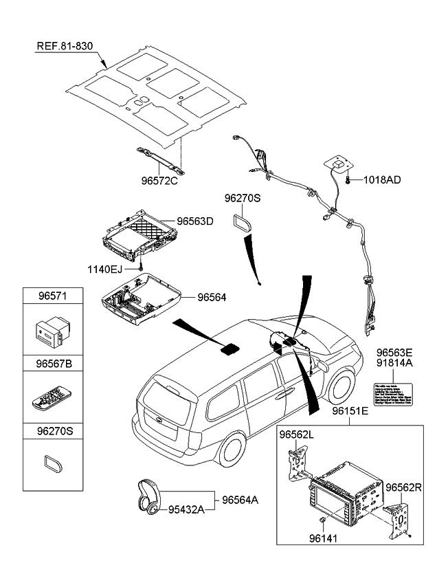 2007 Kia Sedona Information System