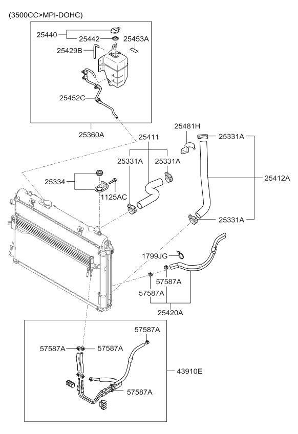 254814d970 genuine kia clip hose rh kiapartsnow com Kia Spectra Parts Diagram Kia Sedona Parts Diagram